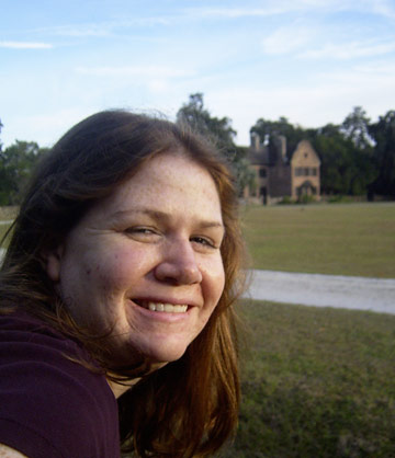 Me at Middleton Place in Charleston, South Carolina